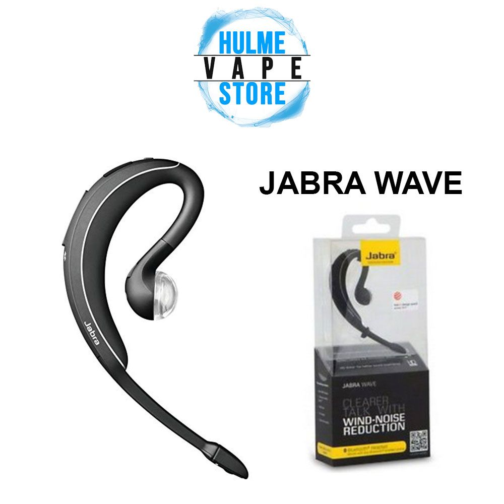 9e93c02bc94 Details about Jabra Wave Wireless Bluetooth black Headset BT3040 Wind Noise  Reduction Black