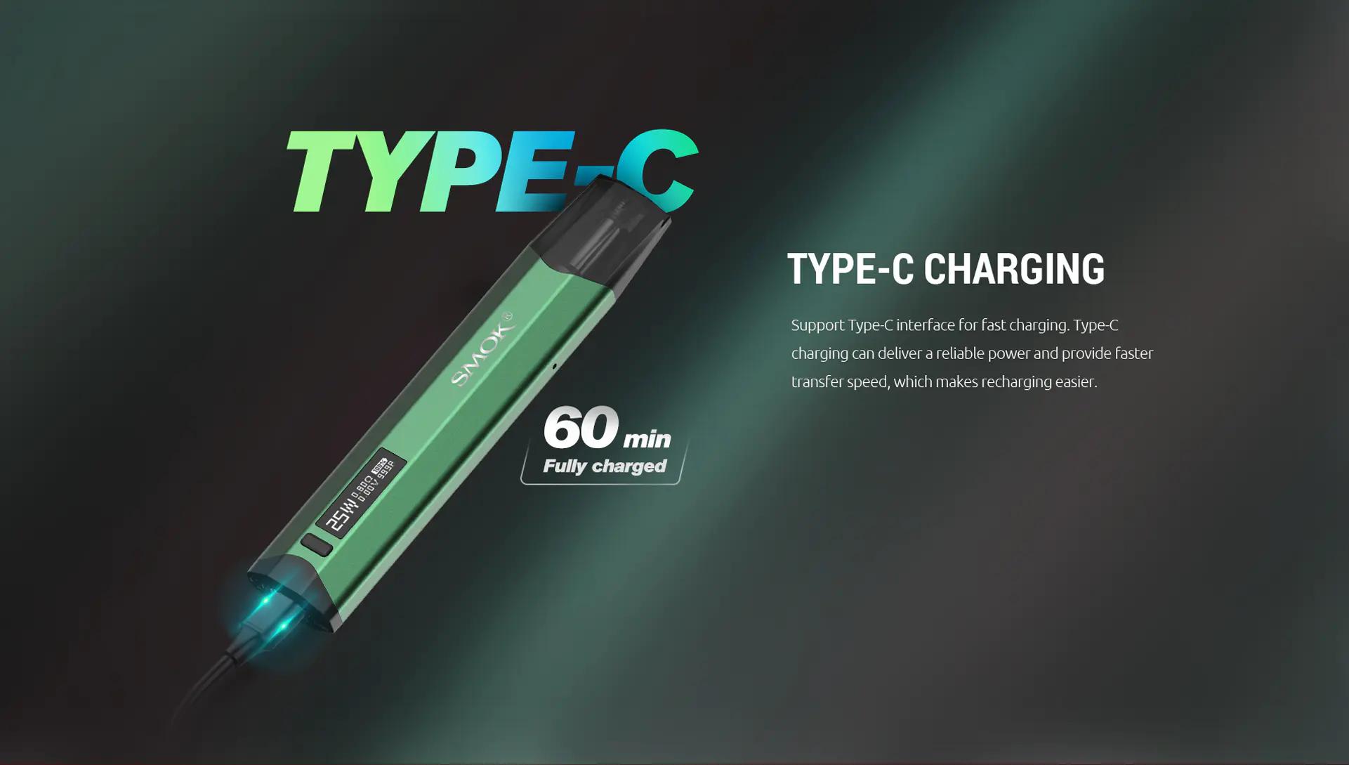 Type C Charging - Smok N-Fix Kit